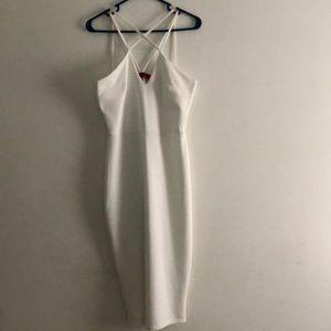 Strappy Cream Dress